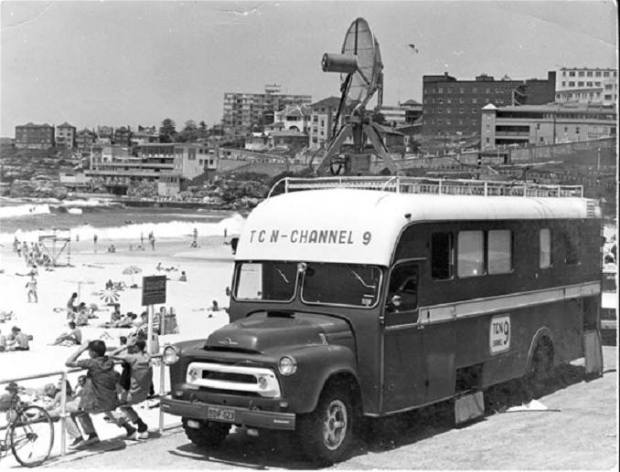 channel 9's first outside broadcast