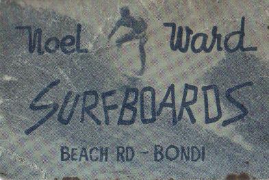 noel ward surfboards