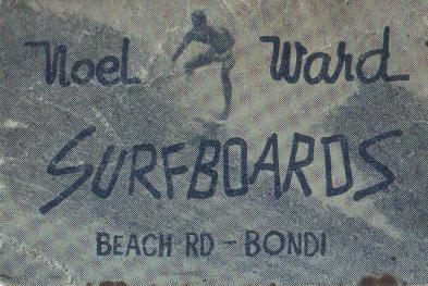 noel ward surfboards