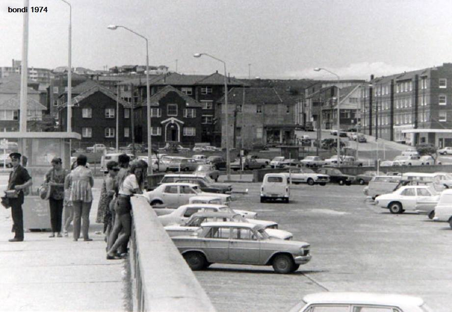 top part of the promenade 40 yrs ago